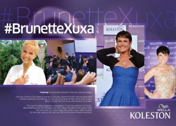 Wella Koleston: #BRUNETTEXUXA Promo / PR Ad by Ketchum Sao Paulo, NEWSTYLE