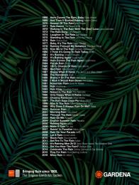 Gardena: Rain Songs Print Ad by Heimat Wien