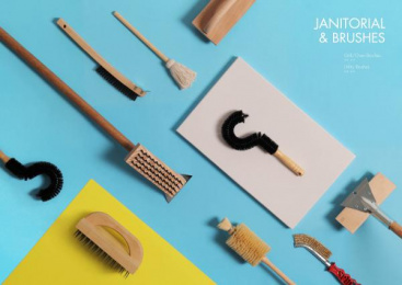Alegacy: Janitorial & Brushes Print Ad by Miller Group Marketing