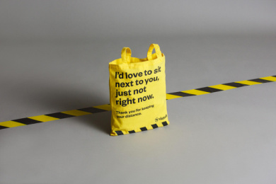 Västtrafik: No Douche Bag, 3 Print Ad by Forsman & Bodenfors, Sweden