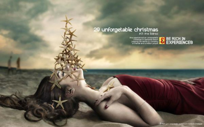 J&b Whisky: Unforgettable Christmas Print Ad by The Farm