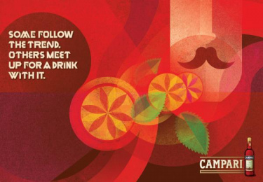 Campari: Trend Outdoor Advert by TBWA\ Buenos Aires