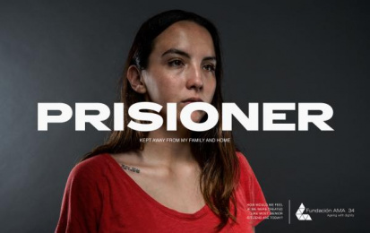 AMA 34 Foundation: Prisioner Print Ad by Estudio Vivo