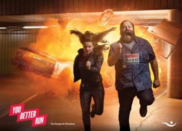 Islandsbanki: You Better Run, 2 Print Ad by Brandenburg