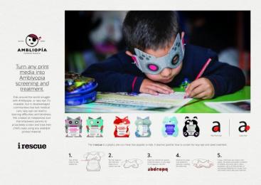 Amblyopia World Campaign: Amblyopia World Campaign Print Ad by VML Bogota