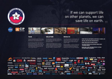The International Potato Center (CIP): Potatoes On Mars [image] 1 Digital Advert by Memac Ogilvy & Mather Dubai, Great Guns Ltd