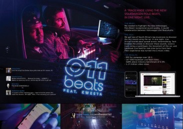 Volkswagen: 011beats [image] Digital Advert by Arcade Content, Ogilvy Cape Town