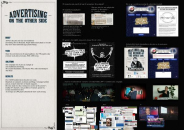 Iqads/adfel: ADVERTISING ON THE OTHER SIDE Direct marketing by Propaganda