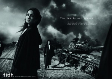 fidh: The law is our weapon, 3 Print Ad by Saatchi & Saatchi + Duke France
