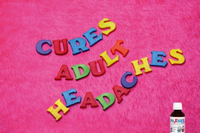 Pain Reliever For Children: CURES ADULT HEADACHES Print Ad by Publicis Singapore