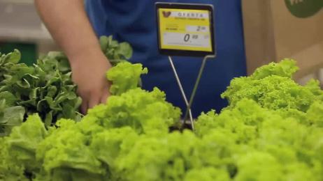 Supermercados Zona Sul: Fresh garden Ambient Advert by WMcCann Sao Paulo