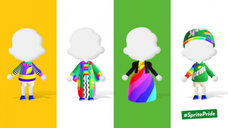 Sprite: Outfits of Pride, 2 Digital Advert by Only IF