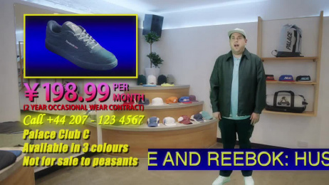 Palace Skateboards: Reebok Classics Film by MPC