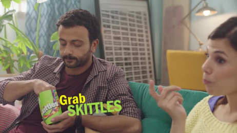 Sour Skittles Candy: Crazy Sours Skittles - Let out the sour. Unsee that scene. Film by Mediacom Mena Dubai