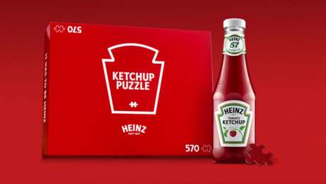 Heinz: Ketchup Puzzle, 1 Film by Rethink