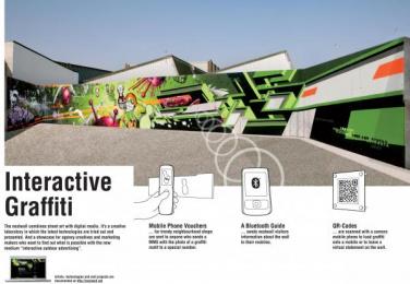 Interactive And Innovative Communication: NEXTWALL Outdoor Advert by Jung Von Matt/Alster Hamburg