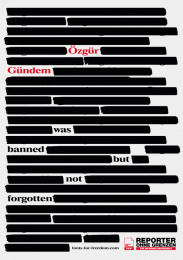 Reporters Without Borders: Posters For Press Freedom, 3 Print Ad by Serviceplan, Germany