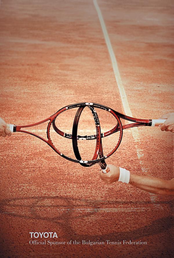 Toyota Tennis Sponsorship