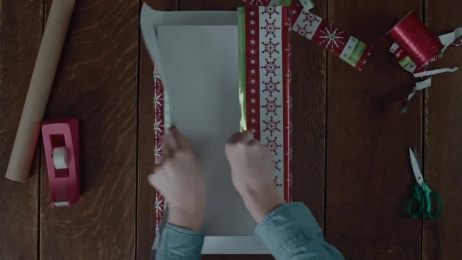 UPS: Wrapping vs. Packing Film by Arts & Sciences, Ogilvy & Mather New York