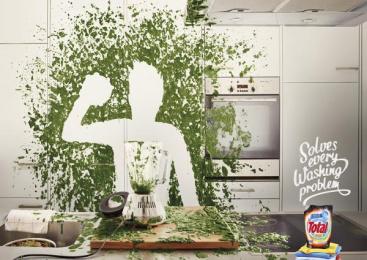 Total: Chef Print Ad by Advico Y&R Zurich