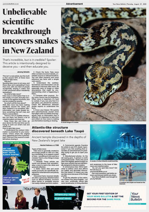 Your News Bulletin: Newspaper
