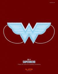 Quick Fox Design: Superhero, 1 Digital Advert by Quick Fox Design
