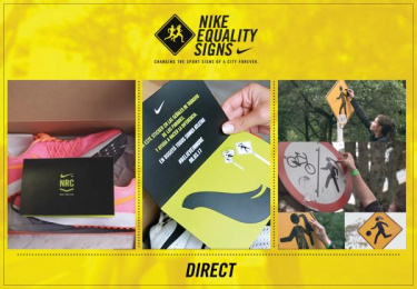 Nike Women: Equality Signs [image] 3 Outdoor Advert by Glue Bogota, J. Walter Thompson Bogota
