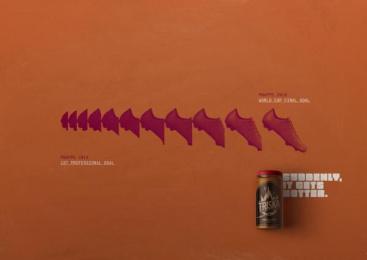 Triska: Mbappé Print Ad by Bolero