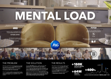 Procter & Gamble: MENTAL LOAD Print Ad by Proximity Madrid