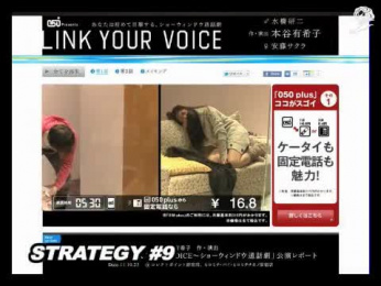 Ntt Communications: LINK YOUR VOICE Case study by Ntt Advertising