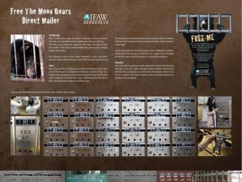 Ifaw/international Fund Of Animal Welfare: Free the moon bear Print Ad by J. Walter Thompson Hong Kong