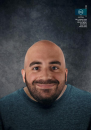 Dell: Posture Short Neck Print Ad by Y&R Miami