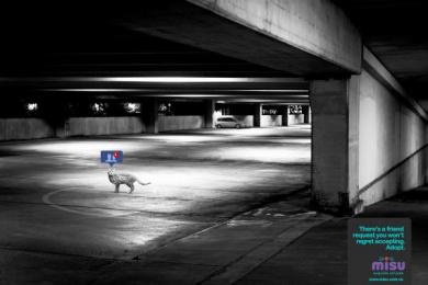 Misu: Parking Print Ad by Eliaschev Saatchi & Saatchi Caracas