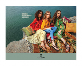 Desi Belle: Break free, 5 Print Ad by Autumnwinter India