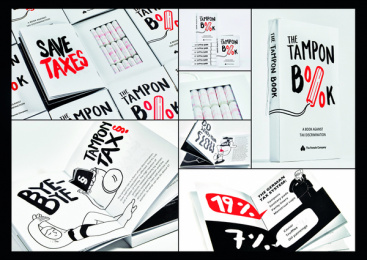 The Female Company: The Tampon Book: a book against tax discrimination, 3 Print Ad by Scholz & Friends Berlin