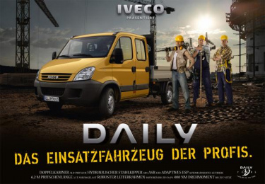 Iveco: Iveco presents Print Ad by Red Cell