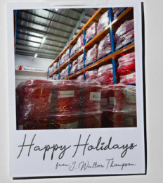 Jwt: Holiday Card Direct marketing by J. Walter Thompson Sao Paulo