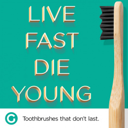 Goodwell Co.: Toothbrushes That Don't Last, 6 Print Ad by Undnyable