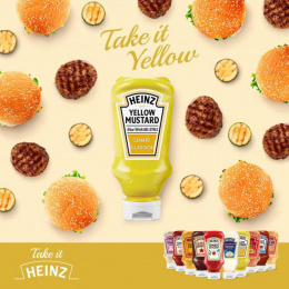 Heinz: Mustard Print Ad by DUDE Milan