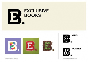 Exclusive Books: Exclusive Books, 1 Design & Branding by Switch