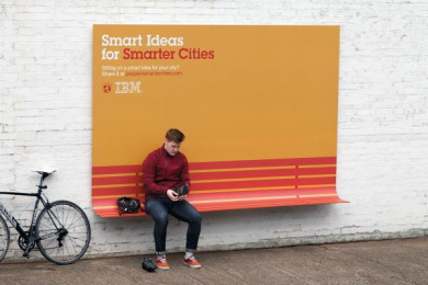 IBM: BENCH Outdoor Advert by Ogilvy Paris