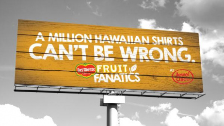 Fresh Del Monte Produce: Fruit Fanatics, 1 Outdoor Advert by quench Harrisburg