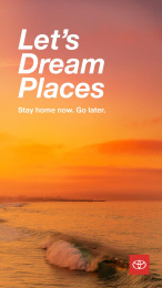 Toyota: Let's Dream Places, 1 Digital Advert by Conill Advertising Los Angeles