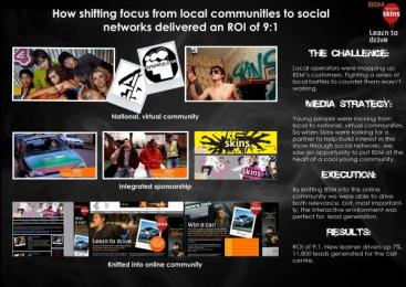 Bsm: 1 Print Ad by OMD London