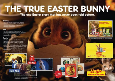 Netto: Netto - Easter Suprise [image] Print Ad by Jung Von Matt Germany