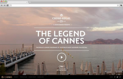 Chivas Regal Whisky: The Legend of Cannes Digital Advert by Evolution Bureau, Unit 9