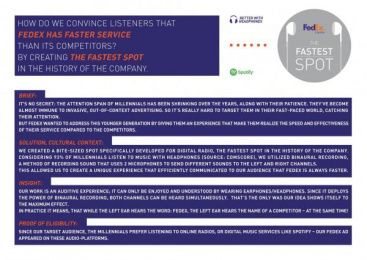 Fedex: Case study Print Ad by White Rabbit