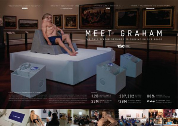 Transport Accident Commission (TAC): Meet Graham [image] 3 Design & Branding by Airbag Productions, Clemenger BBDO Melbourne, Flare