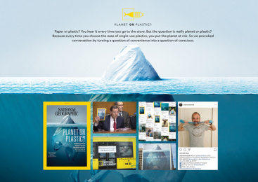 National Geographic: Planet or Plastic? [case board] Print Ad by McCann New York