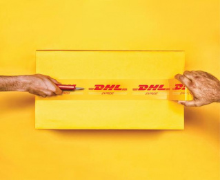 DHL: Cutter [alternative version] Print Ad by Grey Bangalore